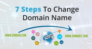 7 steps to change domain name