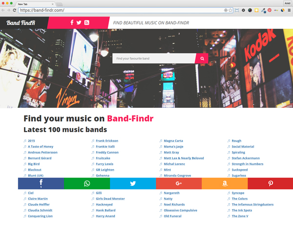 Band Findr