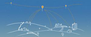 Google Loon Balloon in India