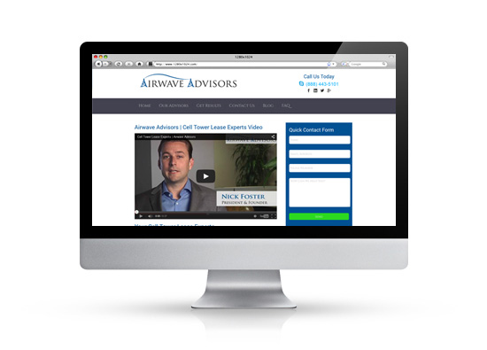 Airwave advisors home page