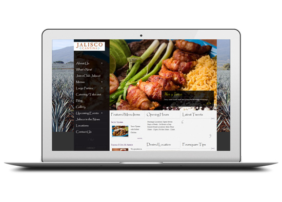 Jalisco cantina home page