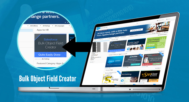 Salesforce Bulk Object Field Creator app