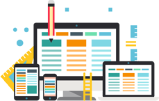 Mobile responsive website Design Services in India