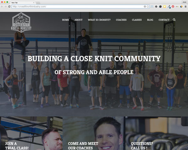 Cross Fit North Industry