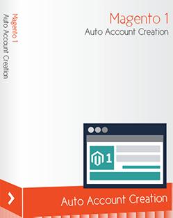 Magento auto account creation extension