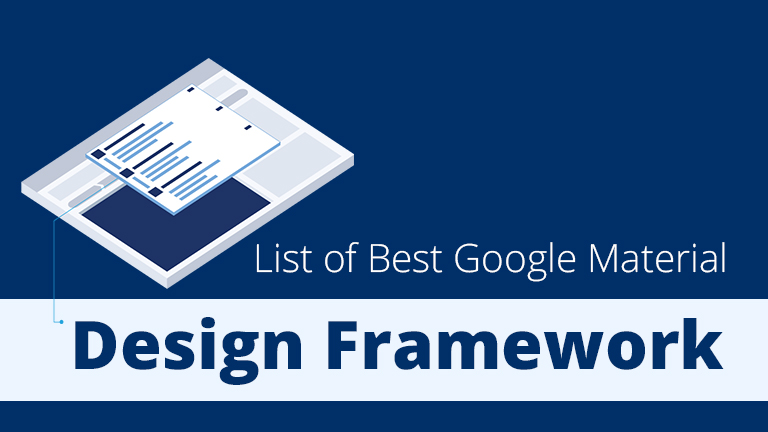 List of Best Google Material Design Framework